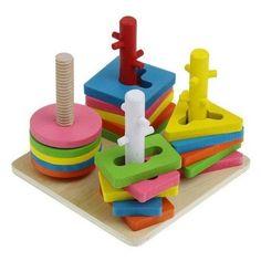 4 Columns of Mental set of Columns, Building Blocks Sets