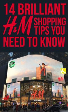 15 Brilliant H&M Shopping Tips You Need to Know