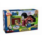 Thomas and Friends Wooden Railway Set - Farmhouse Pig Parade Set