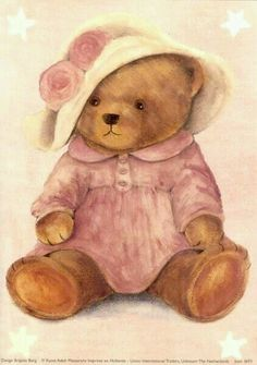 Clipart Baby, Vintage Teddy Bears, Cute Teddy Bears, Tatty Teddy, Sweet Drawings, Bear Paintings, Teddy Bear Pictures, Bear Drawing, Blue Nose Friends