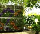 Living Air Garden Pops Up at the Reina Sofia Museum in Spain could be use for fencing research vertical gardens