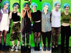 Hayley Williams blue hair