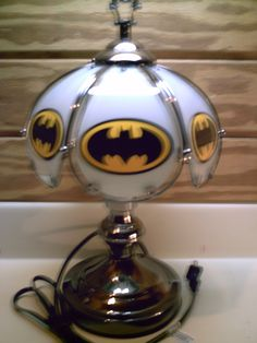 Batman Touch Lamp 14 X  8 New by JES4YOUnAFRIEND on Etsy, $32.00
