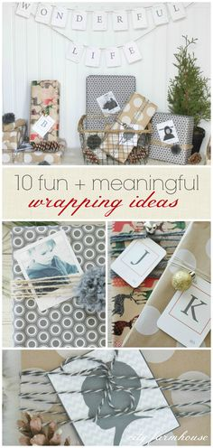 10 Fun + Meaning Wrapping Ideas