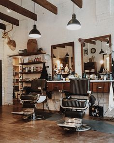 Hudson Hawk Barber Shop // Springfield, Missouri