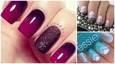 Here are 17 incredibly cute ombre designs to inspire your own monochromatic manicure!