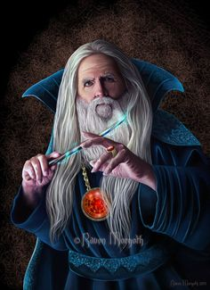 Semiazaz in The Dragofly Chronicles Wizard by RavenMorgoth on deviantART