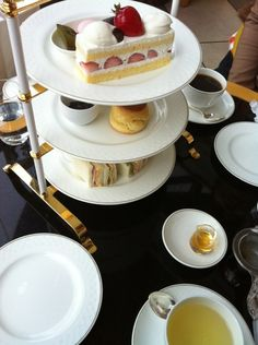 High tea for one at Osaka Imperial Hotel
