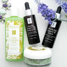 Looking to change your summer skincare routine? Our writer checks out the Éminence Organics Citrus and Kale line - a refreshing and light option!