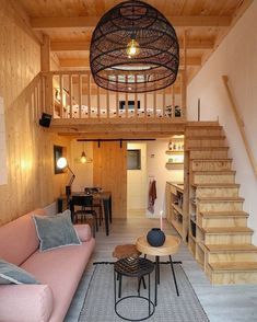 Tiny House Furniture Plans - Tiny House Furniture Plans , Relax Shack by Mini Mansions House Plan With Loft, Tiny House Loft, Best Tiny House, Modern Tiny House, Small House Design, Tiny House Living, Small House Plans, Tiny Houses, Cabin With Loft