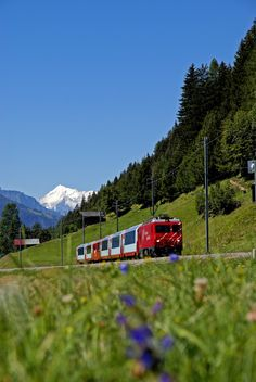 The Glacier Express is the most famous railway in the world. The modern panorama viewing are truly comfortable and the journey itself is in fact the destination: hear, see and marvel.