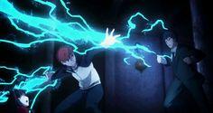 More Kanshou and Bakuya goodness.  Shirou is absolutely the Eldritch Knight…