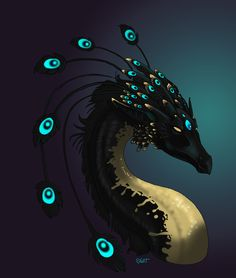 Dragon Feathers by sighthoundlady.deviantart.com on @deviantART