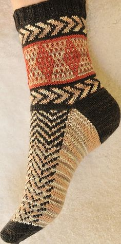 """Seriously SW Sock Side"" < Free pattern / rav"