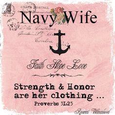 Navy wife proud!