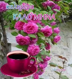Καλημέρα και Καλό μήνα! (εικόνες με λόγια) - eikones top