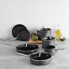 Calphalon® Classic Nonstick 12-Piece Cookware Set and Open Stock