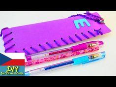 BACK TO SCHOOL - pouzdro na tužky - super jednoduché originální pouzdro - YouTube