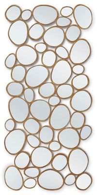 This is a classic CG mirror-- made to imitate champaigne bubbles!