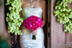 pink bouquet | Cary Pennington Wedding Photography