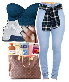 """June 11, 2016"" by uniquee-beauty ❤ liked on Polyvore featuring NIKE"
