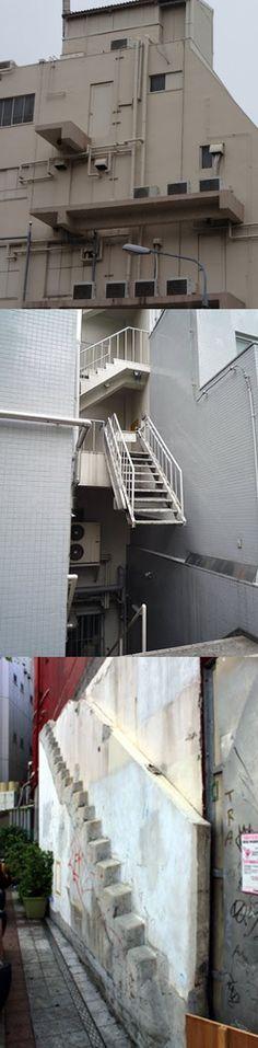 《各種無用樓梯空間》這是NG建築還是通往天堂的階梯?