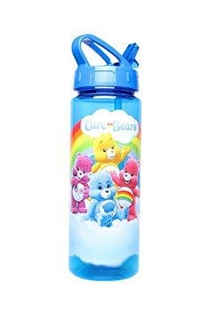 Silver Buffalo CG0164 Care Bears Tritan Water Bottle 20 oz Blue -- For more information, visit image link.Note:It is affiliate link to Amazon. #BottlesforWatersport