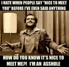 Nice to meet you @$$#0/£