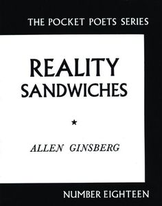 Reality Sandwiches: (City Lights Pocket Poets Series) by Allen Ginsberg 0872860213 9780872860216 City Lights Bookstore, Most Famous Poems, Contemporary Poetry, Allen Ginsberg, Book Annotation, Up Book, Poetry Books, Used Books, Psalms