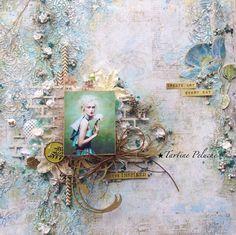 Blue Fern Studios: June layouts by Tartine Peluche
