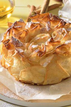 Crujiente de manzana fácil - Backen + Co - Baking + Co - Pear Dessert Recipes, Phyllo Recipes, Apple Desserts, Easy Cookie Recipes, Sweet Recipes, Snack Recipes, Bon Ap, Spanish Dishes, Bakery Recipes