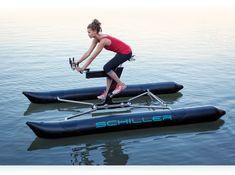 Оригинальный и стильный водный велосипед Schiller Bike