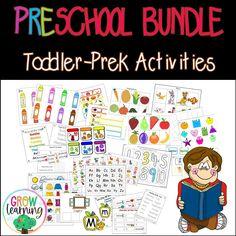Homeschool Preschool Curriculum, Kindergarten Learning, Kindergarten Centers, Classroom Activities, Early Learning, Learning Activities, Preschool Activities, Teaching Ideas, Teaching Resources