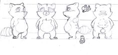 orthographic pokemon drawings - Google Search