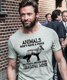 I LOVE Hugh Jackman! This just makes him even better! I LOVE Hugh Jackman! This just makes him even better! Hugh Jackman, Hugh Michael Jackman, Vegan Facts, Vegan Memes, Vegan Quotes, Vegan Humor, Save Animals, Animals And Pets, Strange Animals
