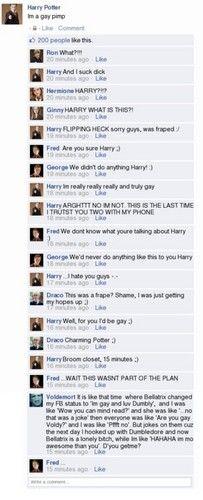 Harry Potter Facebook - harry-potter Photo