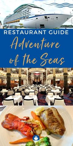 Having just returned from the first cruise on Adventure of the Seas, we put together this Adventure of the Seas Restaurant Guide with menus.