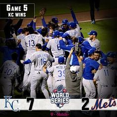 Mighty KC! @KCRoyals rise in 9th, rule the world. #WorldSeries | MLB.com