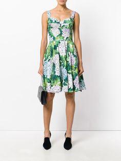Dolce & Gabbana hydrangea print dress
