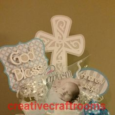 First Communion Baptism Christening by CreativeCraftRooms on Etsy