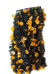 Pumpkins  Black 15 ft Halloween Garland -- Check this awesome product by going to the link at the image.