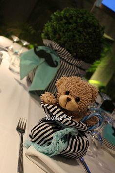 Παιδική μπομπονιέρα μπομπονιέρα βάπτισης αρκουδάκι για τους φίλους του μικρού Μάνου! www.nikolas-ker.gr