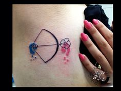 Bow by dimitris grapsias koi tattoo
