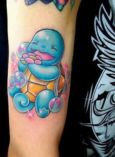 Most popular tags for this image include: kawaii, pokemon, tattoo, pokemon tattoo and kawaii tattoo