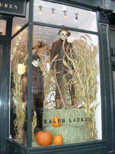 #escaparates halloween Jaime Ordoñez Escaparate de Halloween, muy llamativo