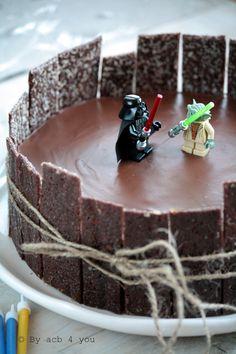 Gâteau d'anniversaire Star Wars