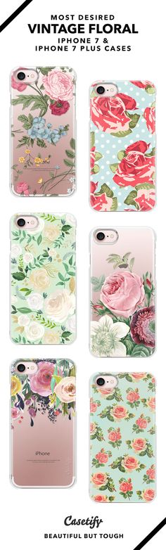 """""""Be true to who you are.""""   Most Desired iPhone 7 Cases and iPhone 7 Plus Cases for Vintage Floral Lovers. For more Flower Cases, shop them here ☝☝☝ BEAUTIFUL BUT TOUGH ✨ - Wedding, Fashion, Clothes, Home, Photography, Style, Arrangements, Style, Hair, Crown, Party"""