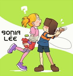 Sonya and Lee