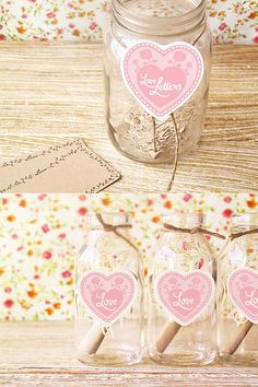 Pin for Later: 19 Free Wedding Guest-Book Printables That You'll Love DIY Wedding Love Notes We love this simple DIY mason-jar guest book! Place one at each table to create an interactive centerpiece for your guests. Wedding Guest Book, Wedding Blog, Diy Wedding, Wedding Favors, Wedding Invitations, Wedding Day, Wedding Decorations, Wedding Advice, Party Favors