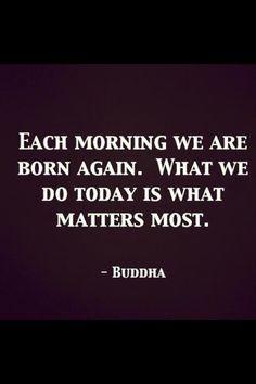 Meditation: morning meditation